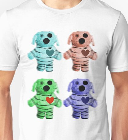 Colorful Zombie Dogs Unisex T-Shirt