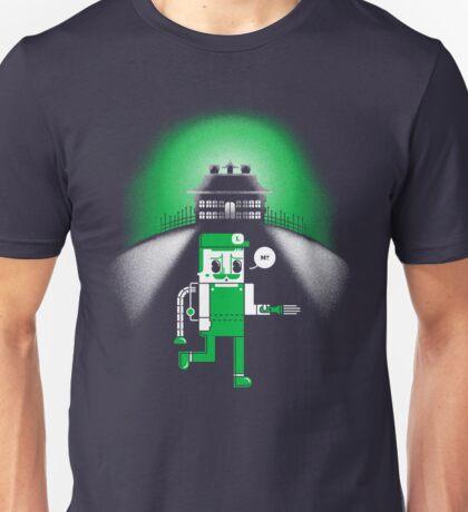 Luigi's Spooky Search Unisex T-Shirt