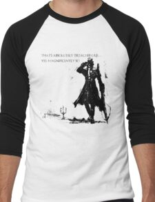 Marvelous Chester Men's Baseball ¾ T-Shirt