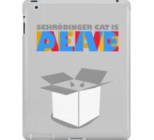 Schrödinger's cat iPad Case/Skin