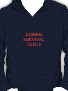 Zombie Survival Tools T-Shirt