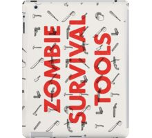 Zombie Survival Tools iPad Case/Skin