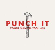 Punch it! - Zombie Survival Tools by Daniel Feldt