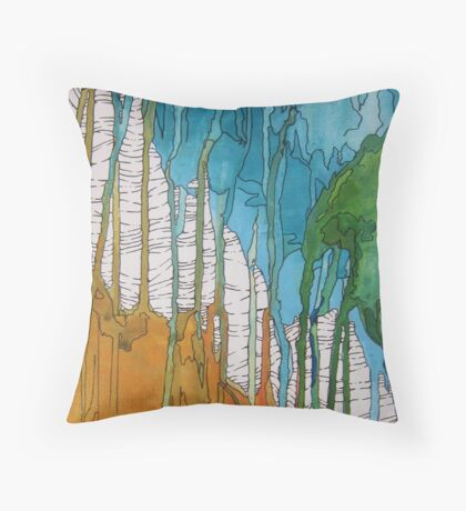 Ethereal Growth One Throw Pillow