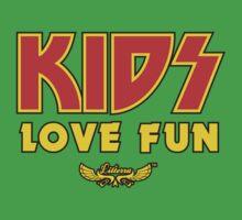 Kids Love Fun One Piece - Short Sleeve