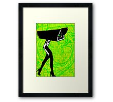 Look at ME! Funny Modern Art Prints T-Shirt Stickers Cases Framed Print