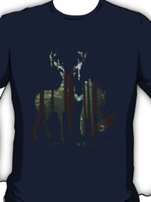 In the woods. T-Shirt