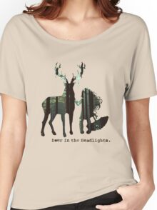 In the woods. Women's Relaxed Fit T-Shirt