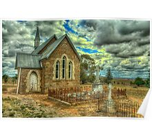 Old Time Religion - Ilandra Chapel - Riverina NSW- The HDR Experience Poster