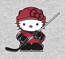 Hello Kitty Loves The Detroit Red Wings! by endlessimages