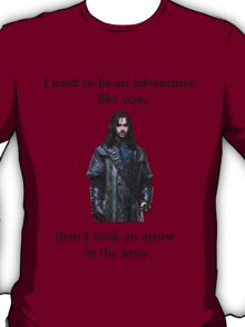 I used to be an adventurer (black) T-Shirt
