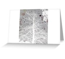 Veins Greeting Card