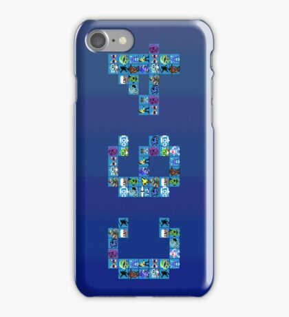 C64 Characters iPhone Case/Skin
