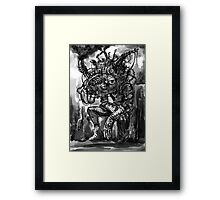 Smog God Framed Print