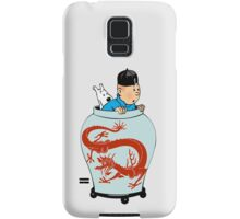 Tintin Dragon Samsung Galaxy Case/Skin