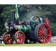 Traction Engine  Photographic Print