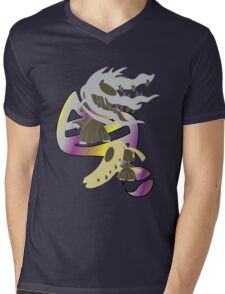 Mega Mawile Evolution Mens V-Neck T-Shirt