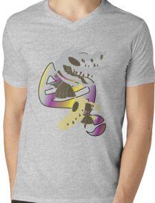 Mega Mawile Evolution Mens V-Neck T-Shirt