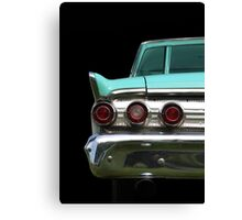Back (turquoise) Canvas Print