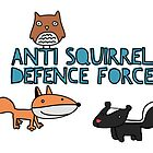 Anti Squirrel Defence Force by babushack