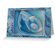 Clear as water 9 Greeting Card