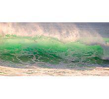 green wave . Comporta Photographic Print