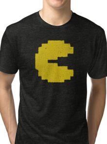 Vintage Look Arcade Classic Eating Legend Tri-blend T-Shirt