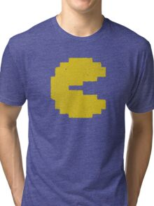 Vintage Look Arcade Classic Eating Legend Tri-blend T-Shirt