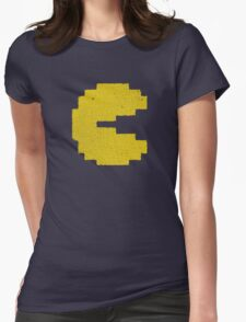 Vintage Look Arcade Classic Eating Legend Womens Fitted T-Shirt