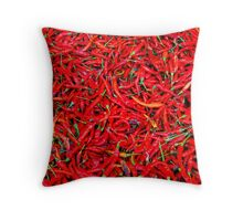 Red Hot Chilli Peppers Throw Pillow