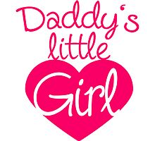 Daddys Little Girl Heart Logo by Style-O-Mat