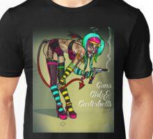 Guns Girls & Garterbelts Unisex T-Shirt