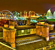 Rooftops Newcastle by redleg