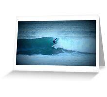 Wave Rider  Greeting Card