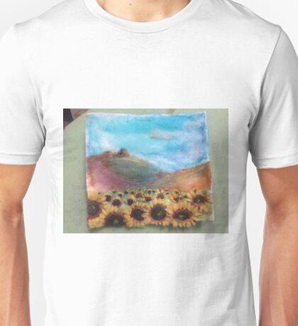 Sunflower dreams of the Bluffs Unisex T-Shirt