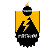 Team Physics Photographic Print