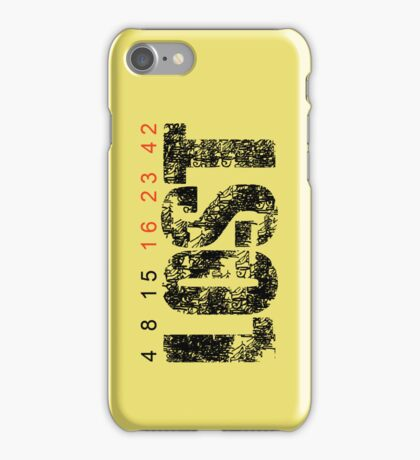 Lost - Hieroglyphs/Numbers iPhone Case/Skin
