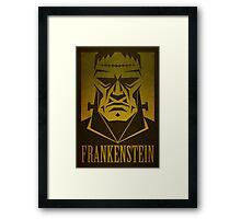 Frankenstein Print Framed Print