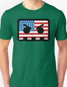 Barely Alive - US Flag Logo Unisex T-Shirt