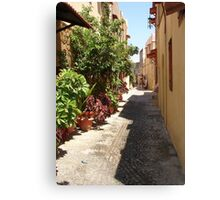 Rhodes: The Old Town Canvas Print