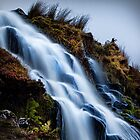Waterfall, Isle of Skye, long exposure by Mark Kenwood