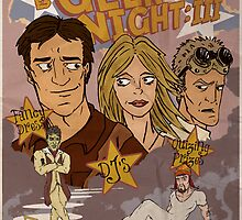 Geek Night: III Once More, With Fillion by TwistedDredz