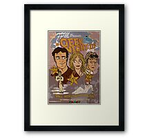 Geek Night: III Once More, With Fillion Framed Print
