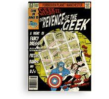 Geek Night: II Revenge Of The Geek Canvas Print