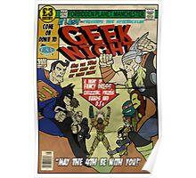 Geek Night Poster