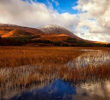 Loch Cill Chriosd, Torrin Isle of Skye by Mark Kenwood