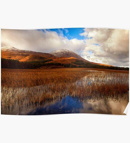 Loch Cill Chriosd, Torrin Isle of Skye Poster