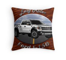 Ford F-150 Truck Easy Rider Throw Pillow