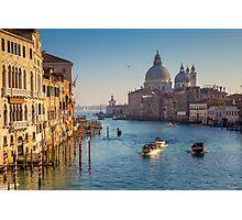 Venezia, Santa Maria della Salute Photographic Print