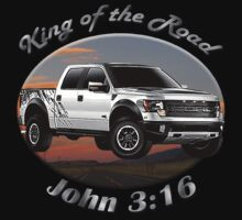 Ford F-150 Truck King Of The Road Kids Clothes